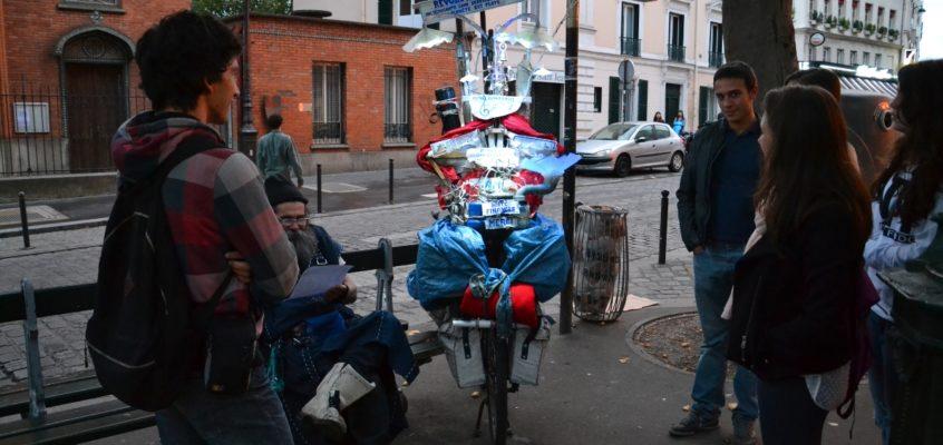 """France avec Passion. """"Spotkanie z poetą na Montmartre"""""""