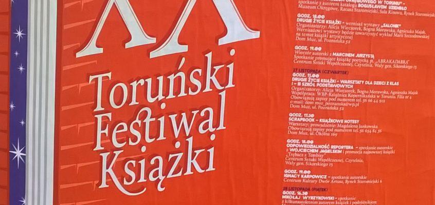 XX Toruński Festiwal Książki. Spotkanie z Mikołajem.