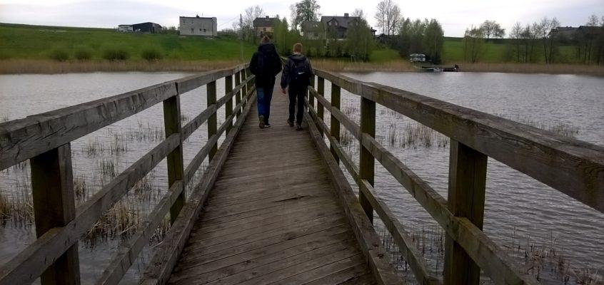 Camino Polaco. Odcinek 1: Iława-Radomno ( 12,5 km)