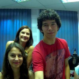 02-07-2015 w audycji RADIA PIK Młodzież z Pomorza i Kujaw powędruje szlakiem Św. Jakuba w Hiszpanii