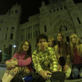 Camino del Norte. Pół nocy w Madrycie