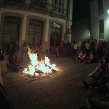 Noc świętojańska w Santiago de Compostela
