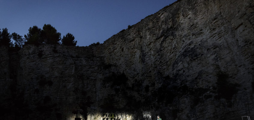Wiatr pośród skał – Festival d'Avignon