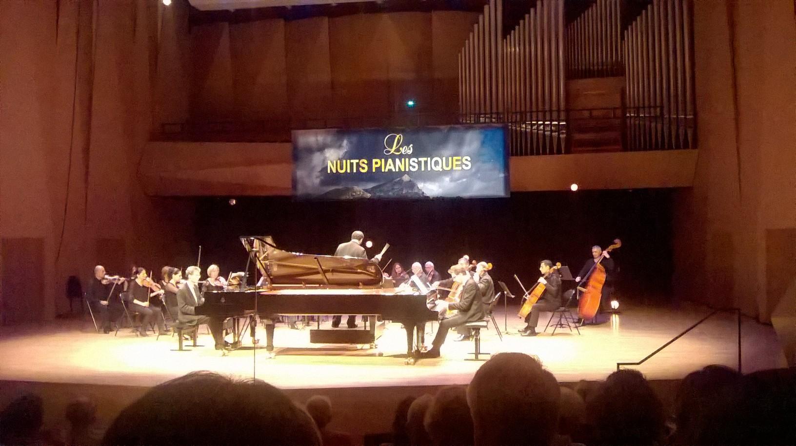 Les nuits pianistiques – Aix en Provence 2016