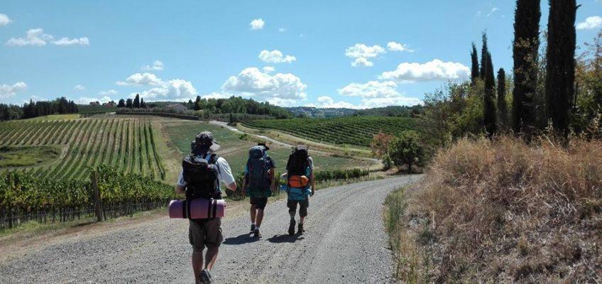 Via Francigena. 12.08.17 San Miniato – Gambassi Terme