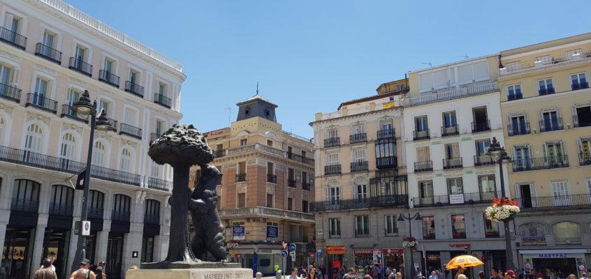 Dzień w Madrycie