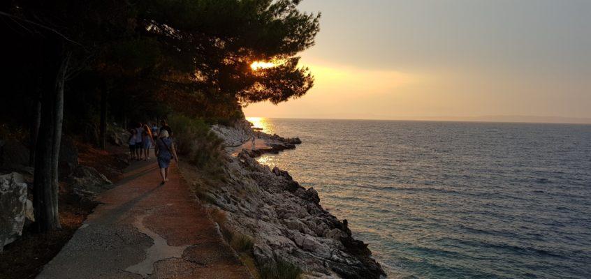 Na chorwackich plażach