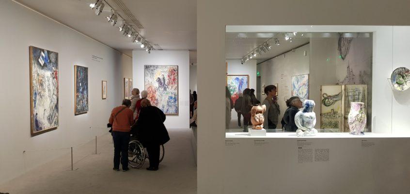 Od czerni i bieli do koloru – Marc Chagall