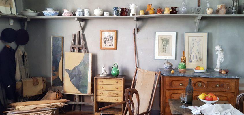 W pracowni Cezanne'a