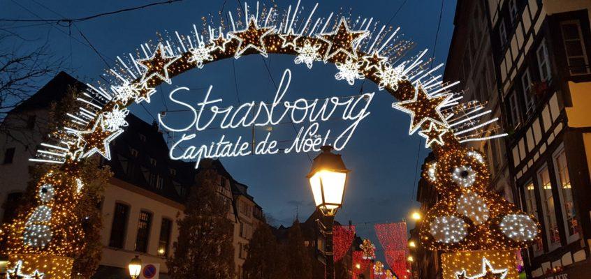 Świąteczny rynek w Strasburgu!